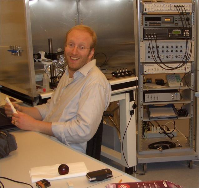 2009 Giuliano Taccola all'apertura dello Spinal Lab di Udine