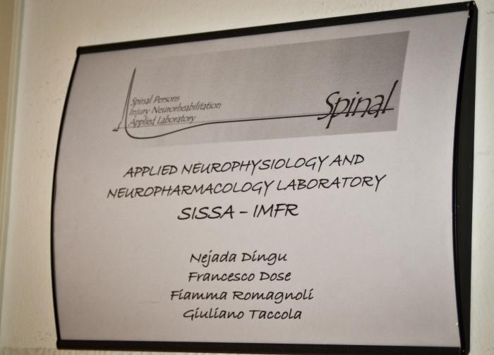 Nomi dei collaboratori del  laboratorio Spinal 2015